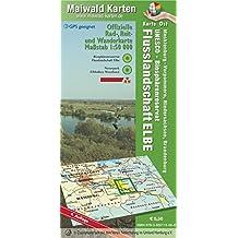 Elbetal Ost = Offizielle Rad-, Reit u. Wanderkarte - UNESCO - Biosphärenreservat Flusslandschaft Elbe - Karte Ost: Maßstab 1:50.000 - GPS geeignet - - Maßstab 1:50.000 - GPS geeignet
