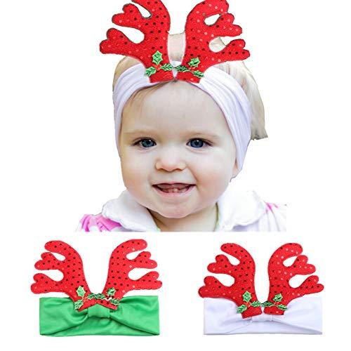(JINRU Packung Mit 2 Lustigen Partyhüten Weihnachtsmützen - Weihnachtsmütze, Elfenmütze Für Partys, Kinder)