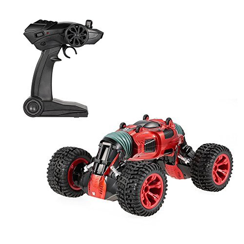Voiture Télécommandée, Goolsky 8840 2.4G 4WD Une Transformateur De Clé Double Taille Stunt Voiture Électrique RTR Crawler RC Voiture