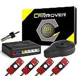 Car Rover Auto Inversione di Sostegno Sensore di Parcheggio Kit 4 13Mm Originale Sensori Radar con Buzzer Allarme Bianco