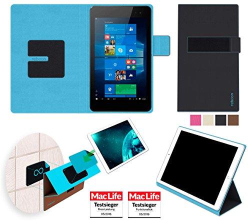 reboon Hewlett Packard Envy 8 Note Hülle Tasche Cover Case Bumper   in Schwarz   Testsieger