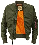 MA-1 TT Fliegerjacke dark green - XXL