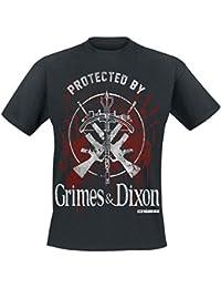 The Walking Dead Rick Grimes & Daryl Dixon T-shirt noir