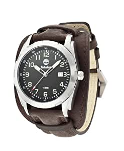 Timberland - TBL.13330JS/02A - Newmarket - Montre Homme - Quartz Analogique - Cadran Multicolore - Bracelet Cuir Marron