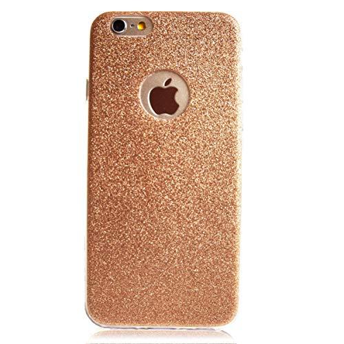 Glitzer Schutz Hülle TPU für Apple iPhone 4 4s Bling Weich Hülle Strass Weich Silikon Dünn Tasche Glitzer Handy Cover Case (4 Hülle Strass Iphone Bling)