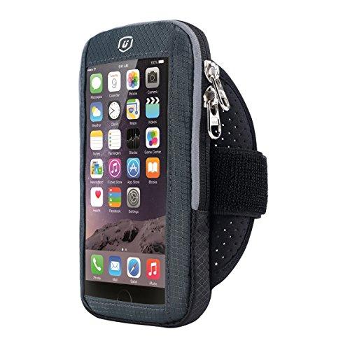 iPhone 6/6S/7Reflektierende Armband Sportarmband Armband für SKINING Radfahren Wandern Sport (Den Ipod Training-band Für Nano)