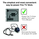 Mission Cables USB Power Cable for Fire TV Stick (Fire TV Stick not included)
