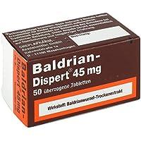 Baldrian-Dispert 45 mg Tabletten, 50 St. preisvergleich bei billige-tabletten.eu
