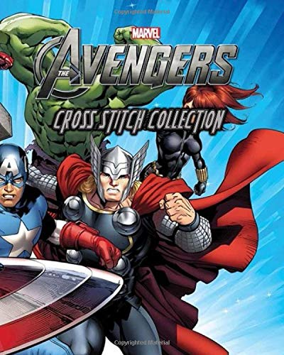 Marvel Avengers Cross Stitch Collection