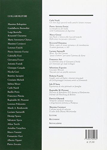 Rivista di ascetica e mistica (2012)
