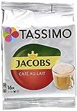 Tassimo Jacobs Café Au Lait Classico, Kaffee T Discs, 16 Getränke, 184g