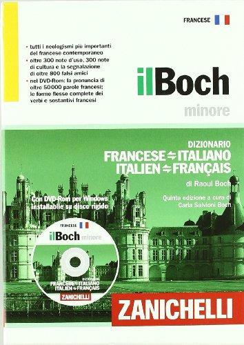 Il Boch minore. Dizionario francese-italiano, italien-franais. Con DVD-ROM