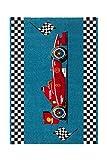 Teppich Kinderzimmer Carpet Kinderteppich Jungen Design Australia - Albany RUG Auto Muster Polypropylen 160x230 cm Blau / Teppiche günstig online kaufen