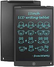 NEWYES NYWT120 Tavoletta LCD da Disegno con Stilo, 12 Pollici di Lenghezza, Vari Colori-Nero