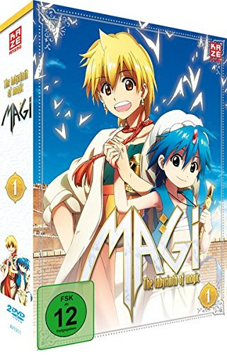 Magi - The Labyrinth of Magic - Box 1 (2 DVDs) - Visionen Kleinen Teppich