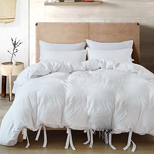 n solide bettwäsche Set einfache Schlafzimmer Set Bettbezug Sets weichen Bequemen 1 bettbezug 2 Kissenbezüge, Single ()