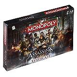 Assassins Creed - Monopoly edición Syndicate versión EN INGLÉS (Talla Única/Multicolor)