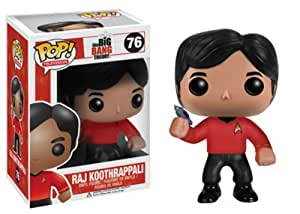 The Big Bang Theory Pop! Vinyl Figure - Star Trek Raj Koothrappali