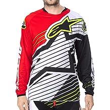 Alpinestars 2017 Motocross / Jersey MTB - Racer Braap - rojo negro blanco - S