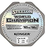 Konger, World Champion, lenza in fluorocarbonio, 0,10-0,30 mm/150 m, lenza monofilo super forte di alta qualità-, 0,18mm / 150m