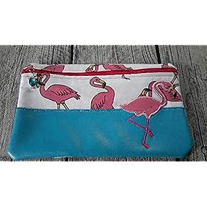 E-Book Tasche, Mäppchen, Kosmetiktasche Flamingo