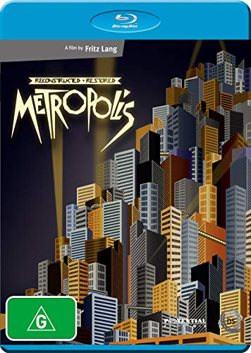 Metropolis Reconstructed & Restored Blu-Ray