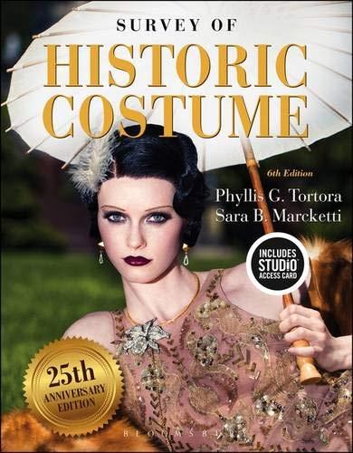 Kostüm Theater Kataloge - Survey of Historic Costume: Bundle Book + Studio Access Card
