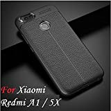 #2: Go Hooked TPU Flexible Auto Focus Shock Proof Back Cover For Mi A1 (Black)