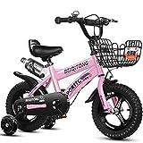 12' 14' 16' 18' Bicicleta Infantil niño y niña   12 14 16 18 Pulgadas   A Partir de 3 años   V-Brake y Freno de contrapedal   Modelo BMX 2019,Pink
