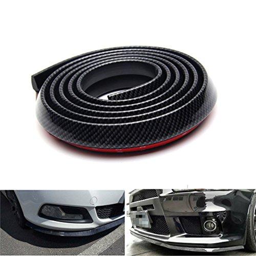 Karbonfaser-Stoßstangenschutz, 2,5m, Universal-Modell für Autos