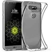 Elekin LG G5 Clear Case Coque Etui Ultra Mince Housse Silicone Transparent Coque de Protection en TPU avec Absorption de Choc Bumper et Anti-Scratch