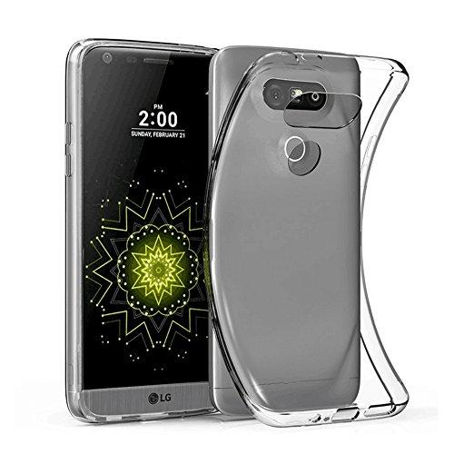 Elekin LG G5 Hülle Case, LG G5 Handyhülle Silkon Crystal Clear Case - Transparent