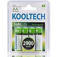 Pilas recargables AA Kooltech CPR2900 4ud 2900mAh