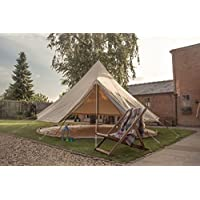 Bell Tent 3 metre with zipped in groundsheet by Bell Tent Boutique 21