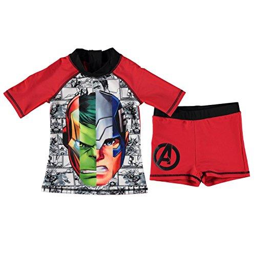 Character Kinder Jungen 2 Stk. Schwimmen Set Kurze Hose T Shirt Tee Top Kleinkind Bekleidung Mehrfarbig 9-10 Yrs (Schwimmen Kleinkind-t-shirt)