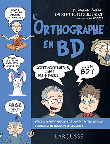L'orthographe en bd par Bernard FRIPIAT