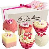 BRUBAKER Cosmetics - Juego de 6 bombas de baño 'Blossom & Hearts', hechas a mano