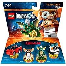 Figurine 'Lego Dimensions' - Gremlins : Pack Equipe