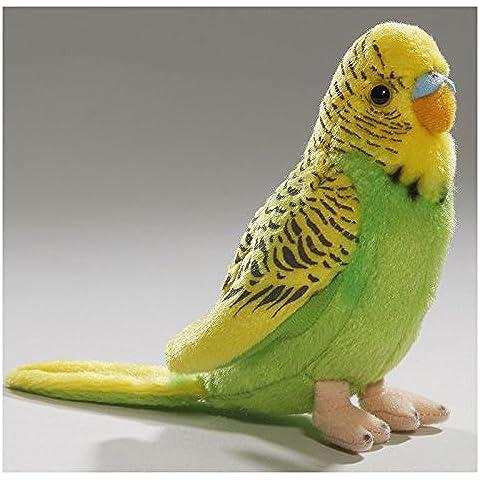 Peluche - Loro verde y amarillo (13cm) [Juguete]