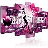 murando - Cuadro 200x100 cm - Abstracto - impresión de 5 Piezas - Material Tejido no...