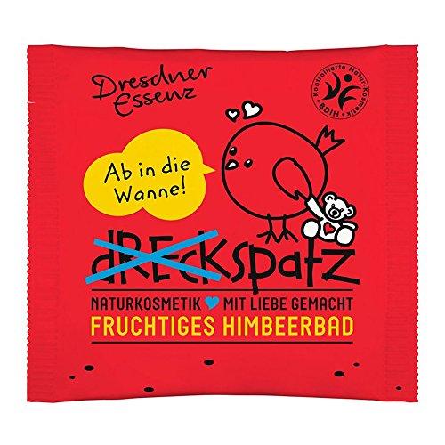 """5er Pack Kinder-Badezusatz Dreckspatz """"Fruchtiges Himbeerbad"""" 5 x 50 g Dresdner Essenz Naturkosmetik"""