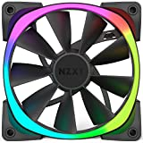 NZXT Aer RGB120 Series 120 mm RGB LED Fan - Black (Pack of 3)