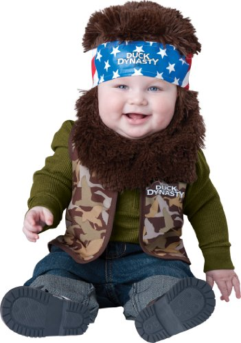Duck Dynasty Willie USA Baby Jungen Halloween Fasching Karneval Kostüm (Kostüme Halloween Incharacter)