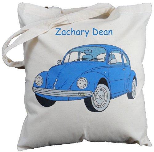 personalised-dark-blue-vw-beetle-natural-cotton-shoulder-bag