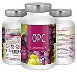 120 vegane OPC Traubenkernextrakt Kapseln ( je 200 mg) von Vita2 kaufen