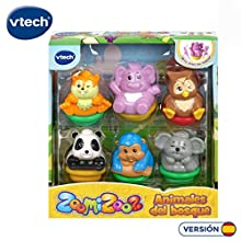 VTECH Set of 6 Zoomizooz Forest Colour (3480-439022), Assorted Colour/Model