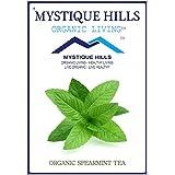 MYSTIQUE HILLS - Organic Sun Dried Whole Spearmint Tea (PREMIUM QUALITY) (200 GR)