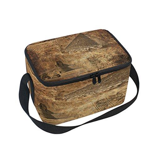 Bolsa de almuerzo. Material: película de aluminio transpirable. Peso: 11,29 oz Tamaño: 2 cm de largo x 2 cm de ancho x 2 cm de alto. Características del producto: cierre de cremallera, un bolsillo principal y una bolsa. Capacidad: Esta bolsa de almue...