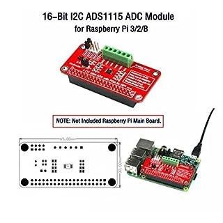 CQRobot 16-Bit I2C ADS1115 ADC Module, for Raspberry Pi 3/2/B.