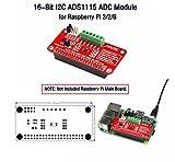16-Bit I2C ADS1115 ADC Module, for Himbeer-Pi 3/2/B.